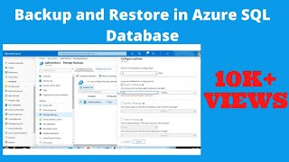 Backup and Restore an Azure SQL Database