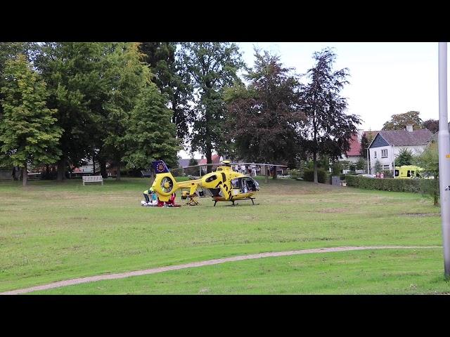 Traumahelikopter ingezet voor ongeval in Ootmarsum