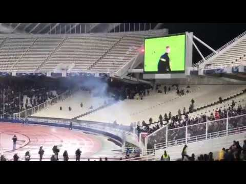 AEK and Ajax Fans Fight 27.11.2018 UEFA Champions League