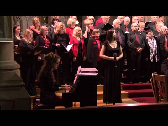Dublin Airport Singers with Mary Flaherty - Laudate Dominum - Mozart