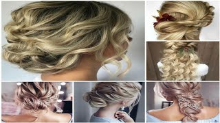 Latest  wedding Hairstyles For girls || cute hairstyles || hair style girl | hairstyle for party