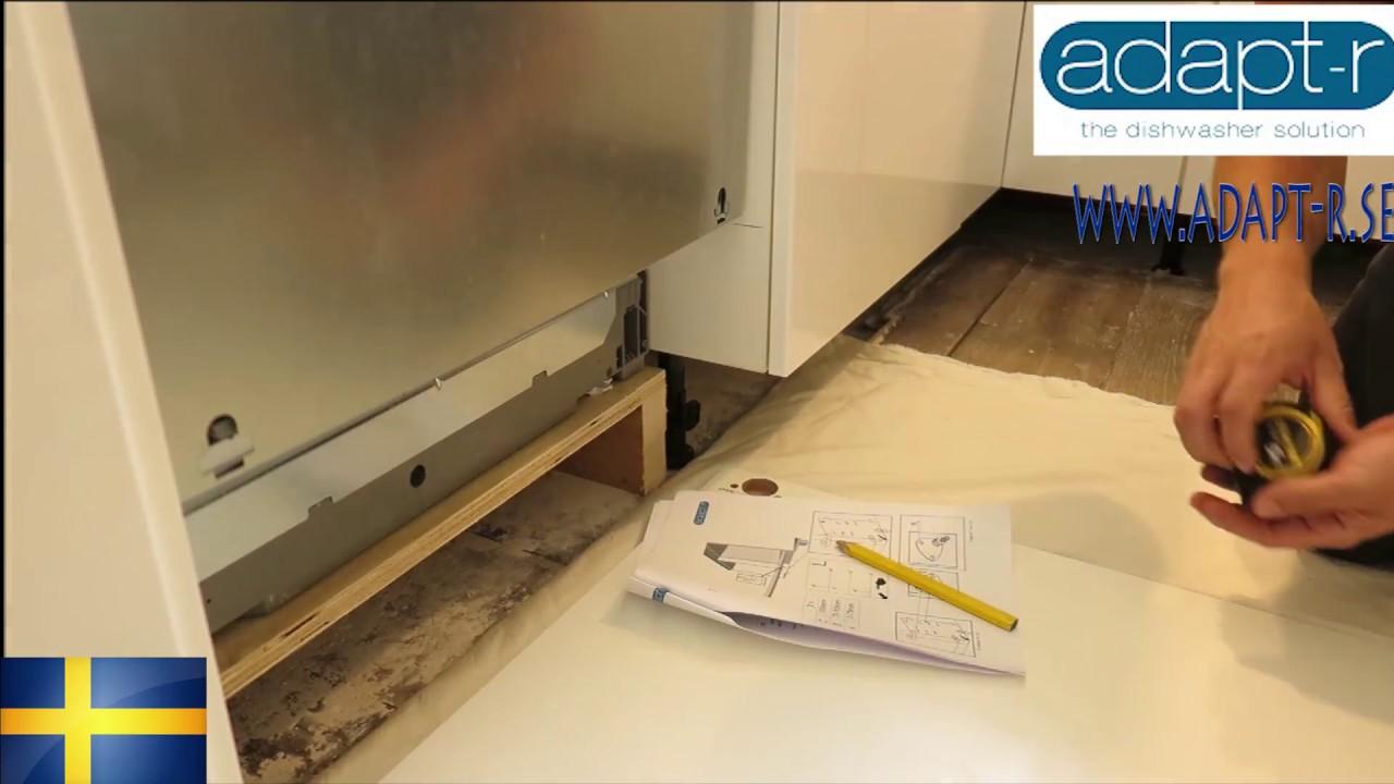 Omtalade Diskmaskin dörr problem IKEA Metod. Adapt-r lösning. - YouTube OP-12