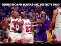 Dennis Rodman Schools and Destroys Shaq (Documentary)