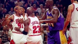 Dennis Rodman Schools and Destroys Shaq (Documentary)