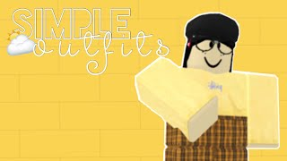 roblox • simple outfits (girls)
