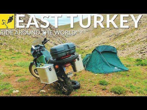 MOTORCYCLE TRAVEL Around the WORLD, Anatolia - East Turkey to Georgia