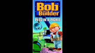 Bob the Builder - Pets in a Pickle 1997 VHS