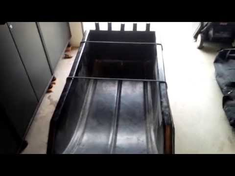 Ice Fishing Sled - Smitty Sled