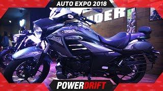 Suzuki Intruder FI @ Auto Expo 2018 : PowerDrift