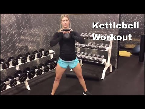 Kettlebell Workout For Women   Legs & Glutes: Includes Kettlebell Swings