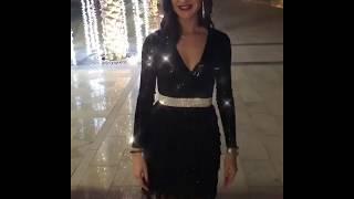 Бузова в Dubai  в потрясающем платье