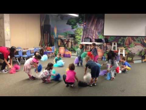 Preschool Music Lesson by Lynn Kleiner