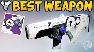 "Destiny: BEST WEAPON YOU CAN BUY! ""Hung Jury SR4"" Dead Orbit Scout Rifle Overview (The Taken King)"