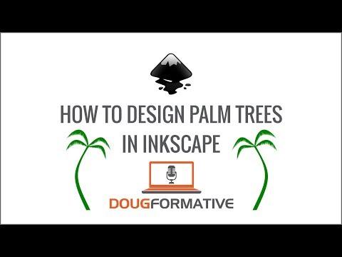 Vector Palm Tree Design