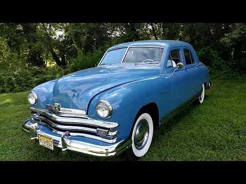 1949 HORIZON BLUE KAISER FRAZER 4 DOOR SEDAN