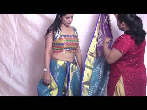 Indian Saree Draping | Wearing Saree Style