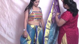 Indian Saree Draping | Wearing Saree Style