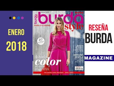 Burda Style January 2018 issue review