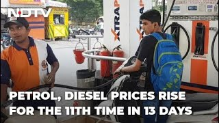 Petrol, Diesel Prices Hiked For 4th Straight Day: Petrol Crosses Rs 103-Mark In Chennai