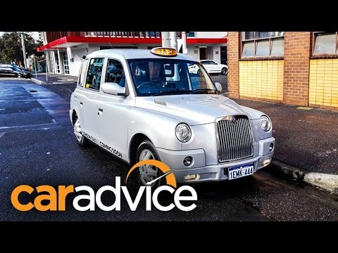 London Taxi TX4 Review - The Melbourne Trial Begin