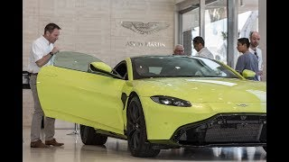VR Aston Martin Vantage V8 2018 Test Drive with the one and only Andy Burgess!