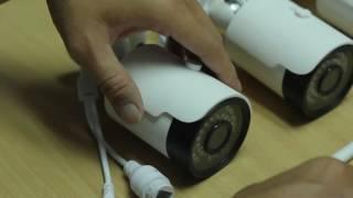 กล้องวงจรปิดไร้สาย Wireless NVR 4KIT ติดตั้งง่ายๆ แบบ กล้วย กล้วย
