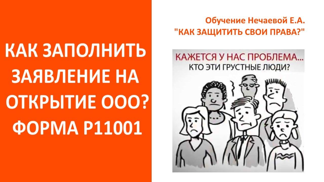 заявление 11001 образец