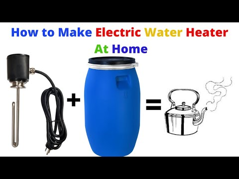 How To Make Electric Water Heater At Home 230 Volt 1500 Watt Water Heater