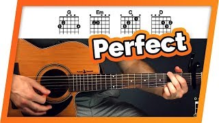Perfect Guitar Tutorial (Ed Sheeran) Easy Chords Guitar Lesson MP3