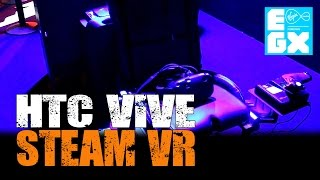 Elite: Dangerous - HTC Vive - SteamVR at EGX 2015