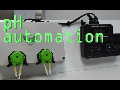 DIY pH automation for hydroponic reservoirs