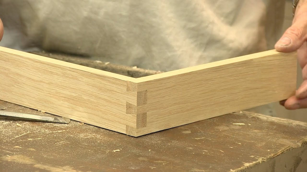 How To Make A Dovetail Joint The Three Joints Paul Sellers