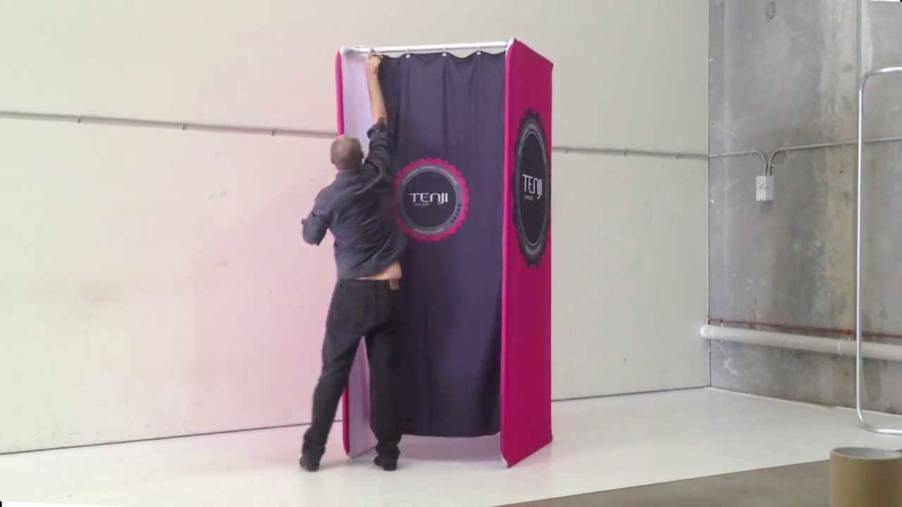 exceptional How To Make A Portable Dressing Room Part - 2: Stretch-Lite Portable Changeroom - YouTube