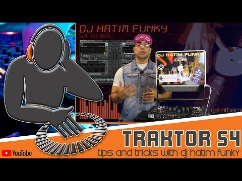Traktor S4 remixTips and Tricks with DJ Hatim Funky