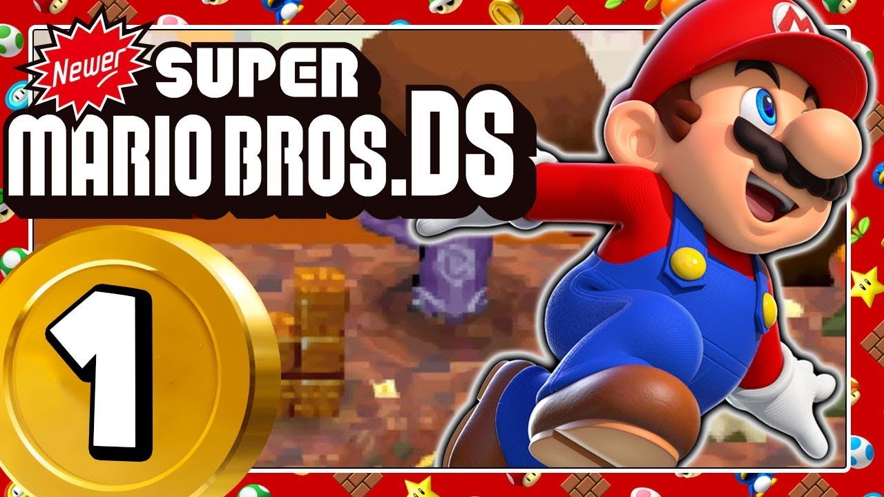 NEWER SUPER MARIO BROS  DS 1: The Newer Team rocks the DS!