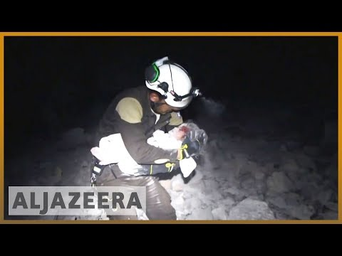 🇸🇾 Syria bombs 'safe zone', killing four civilians | Al Jazeera English