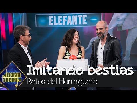 """Anna Castillo y Luis Tosar se enfrentan a la imitación más """"bestia"""" del público - El Hormiguero 3.0"""