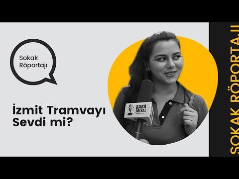 ''İzmit Tramvayı Sevdi mi?'' #babasosyal #babasokakta
