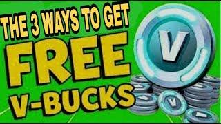Les 3 façons / styles pour gagner vbucks gratuit en fortnite. (stw)