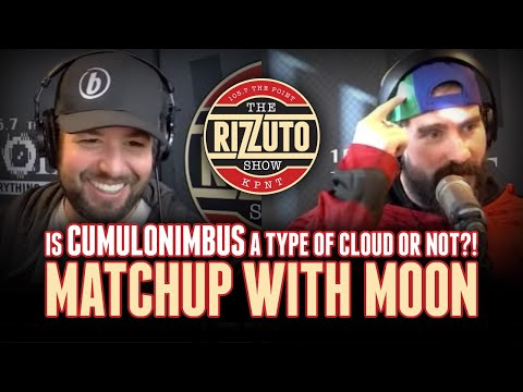 Cumulus, Nimbus, or Cumulonimbus? We argue about clouds during Matchup with Moon! [Rizzuto Show]