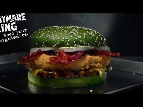Craig Stevens - Big Sandwich comes on green sesame seed bun