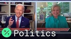 Hillary Clinton Endorses Joe Biden for President in Virtual Town Hall
