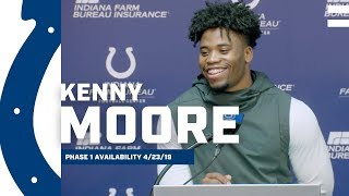 Kenny Moore II Talks Offseason Goals