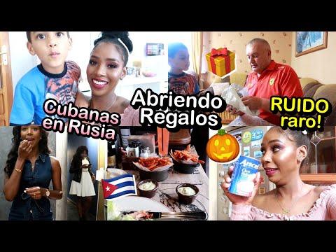 ABRIENDO PAQUETES DE REGALO! CUBANAS EN RUSIA Y FANTASMA EN CASA | 4,6 Jul 2019