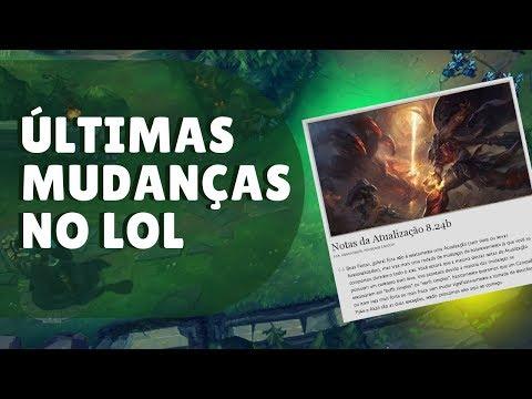 LEAGUE OF LEGENDS SOFRE MAIS UMA SÉRIE DE MUDANÇAS DUVIDOSAS thumbnail