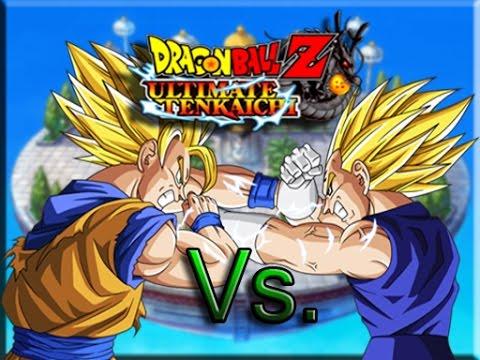 Dragonball Z Ssj2 Goku Vs Majin Vegeta Ultimate Fight Scene