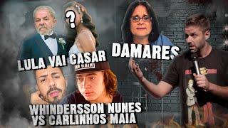 Fábio Rabin - Lula vai casar / Whindersson Nunes vs Carlinhos Maia / Damares