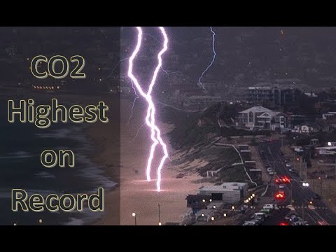 Highest CO2 Concentrations on Record and Coldest In Europe in Decades (917)