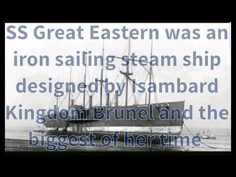 The SS Great Eastern Broken Up On The Mersey.