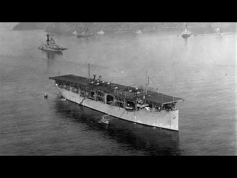 America's First Aircraft Carrier Is Sunk By Japanese Bombers In WWII - 2/27/1942